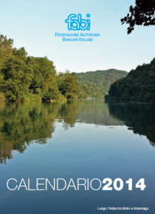 Calendario copertina 2014